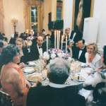 16. Laura behind the scenes at the Korean State Dinner