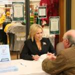 18 ST. NORBERT COLLEGE - Laura at a book signing at Follett Books St. Norbert College Bookstore in April 2010