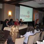 26 STEP UP CHICAGO - Laura participates on a Panel at the Sears Tower