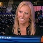 4. Laura at the DNC on CBS
