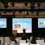 Professional speaker Laura Schwartz at ExecSecLive Westin Dubai