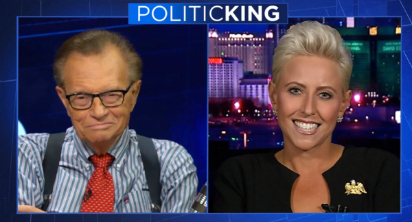 Laura Schwartz Larry King Politicking Ora TV