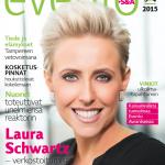 Eventolehti Magazine Cover Laura Schwartz Finland