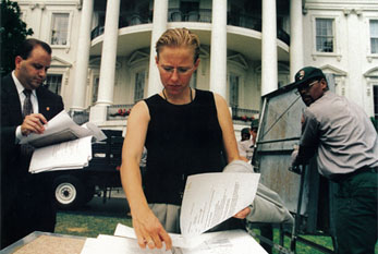 Laura's Years In the White House as the Director of Events