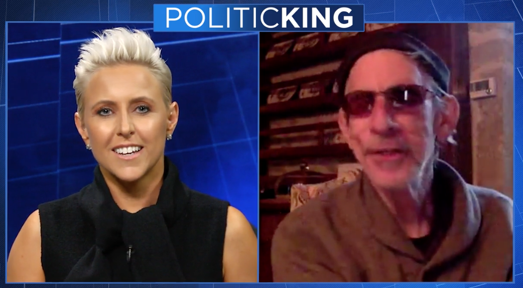 Television host Laura Schwartz returns to PoliticKING to discuss 'Corporate Conspiracies' with author and actor Richard Belzer.